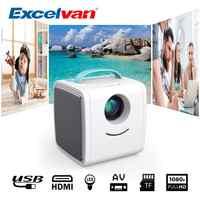 Excelvan Q2 MINI Projector 700 Lumens Portable Projector LED TV Pocket Beamer Kid's Gift Children Education Mini Home Beamer