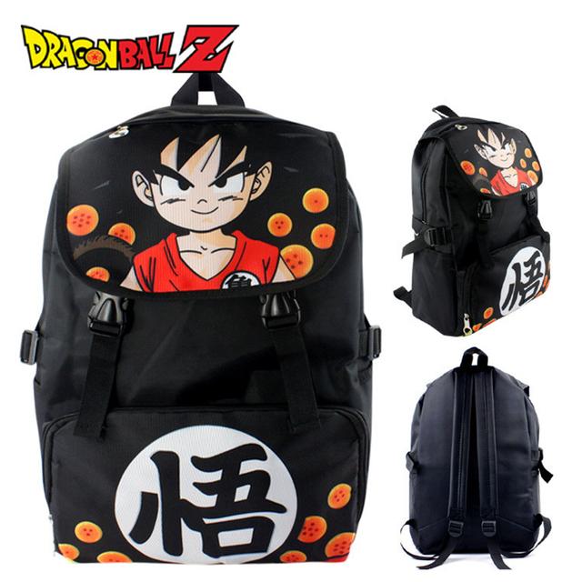 Dragon Ball Z Son Goku Super Saiyan Backpack School