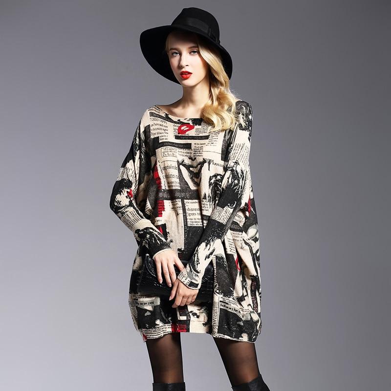 Herfst Europa Fashion Street Dames sweaters Volledige mouw - Dameskleding