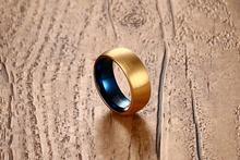Мужское кольцо с вольфрамовым покрытием Размеры 7 8 9 10 11