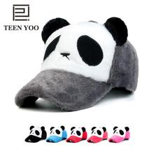 Branded Baseball Caps Panda Cartoon Cotton Winter Hats Embroidery Male Female Outdoor Casual Dad Snapback Children Cap