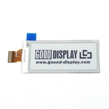 Electronic Ink Screen White Black 2 9 inch E Paper SPI Electronic Paper 296x128 Resolution Partial