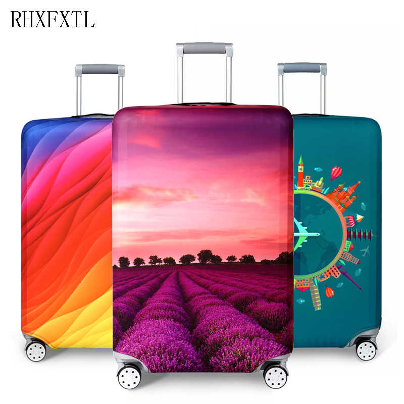 RHXFXTL suitcase case travel accessories travel trolley suitcase protective cover for S / M / L / XL/ 18-32 inch luggage cover