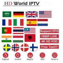 Europe IPTV Subscription Rocksat France UK German Arabic Dutch Sweden French Poland Portug