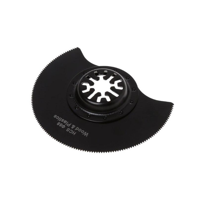 1Pc 88mm HCS Segment Oscillating Multi Cutter Saw Blade For Fein Bosch Makita
