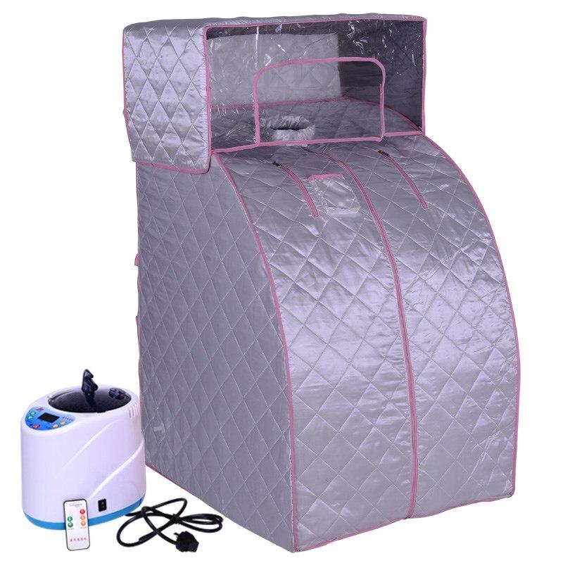 Steam Sauna Household Steamer Khan Steam Room Fumigation Machine Sauna Machine Sauna Box Luxury Folding