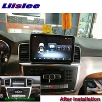 Liandlee Car Multimedia Player NAVI For Mercedes Benz MB M GLE ML W166 2011~2018 Car Radio GPS Navigation