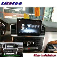Liandlee Car Multimedia Player NAVI For Mercedes Benz MB M GLE ML W166 2011~2018 Car Radio GPS Navigation