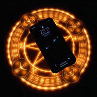 10W Magic Array Wireless Charger Universal Qi Wireless Fast Charger Charging Pad for iPhone X XS Max XR 8 Samsung Nokia Xiaomi