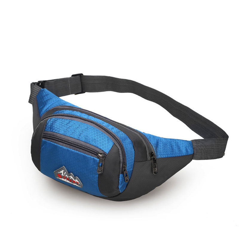 2017 Men Sports Gym <font><b>Running</b></font> Bags Women Waist Packs <font><b>Cell</b></font> <font><b>Phone</b></font> <font><b>Belt</b></font> Wallet Unisex Outdoor Waterproof Nylon Shoulder Bag XA518WD
