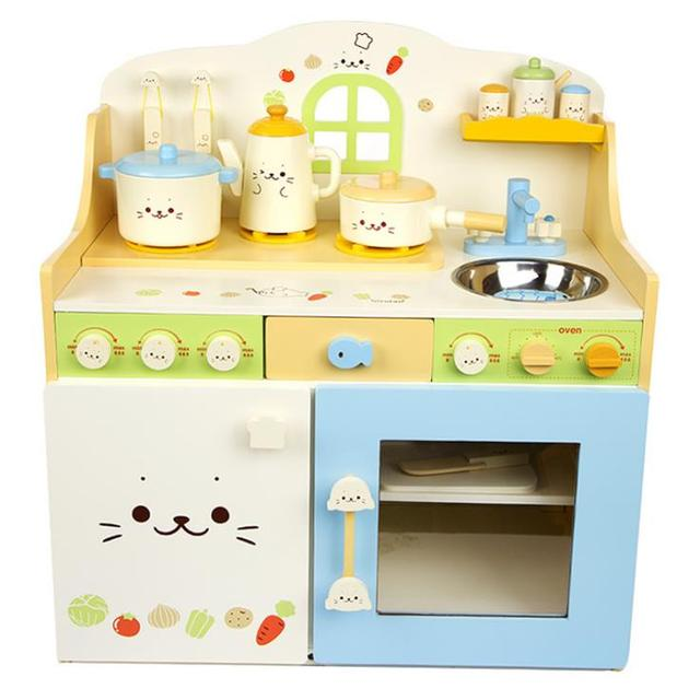 US $540.0 |kids wooden toys,deluxe kitchen pretend play,kitchen play set-in  Kitchen Toys from Toys & Hobbies on Aliexpress.com | Alibaba Group