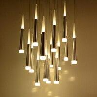 Modern Led Pendant Lights Suspension Lamp Dining Room Bar Coffee Abajur Sala LED Hanging Lamps For