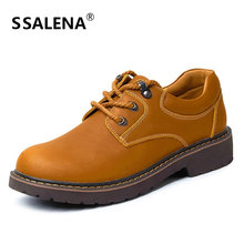 Genuine Leather Casual Shoes Men Light Weight New Design Oxfords Men Flats Fashion High Quality Shoes AA30058