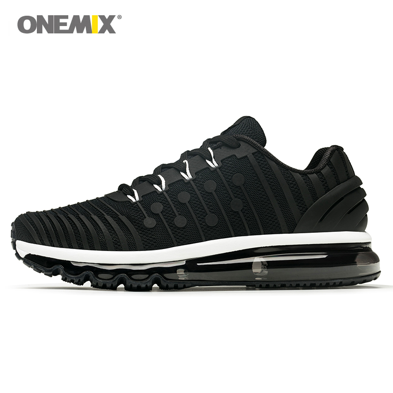 ONEMIX New Running shoes for Men's Sports Shoes Breathable Mesh Sneakers Outdoor Sports Shoes Walking Jogging Training shoes hot new ultra light breathable children shoes boys and girls sports shoes running shoes outdoor walking shoes fly woven coconut