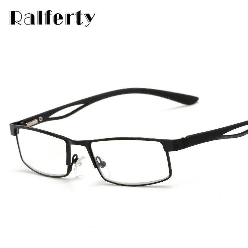 trendy reading glasses pn64  Ralferty Small Square Frame Hyperopia Eyeglasses Prescription Reading  Glasses Men Women Business Far Sight Eyewear oculo de grau
