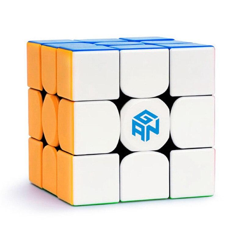 Original nouveau GAN354M magnétique magique vitesse Cube professionnel Gan 354 M 3x3X3 Magico Cubo échange aimants Puzzle sans autocollant