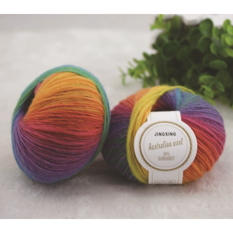 500g 10 Ball 100% Australia Wool Knitting Cashmere High Quality - Arts, Crafts and Sewing - Photo 5