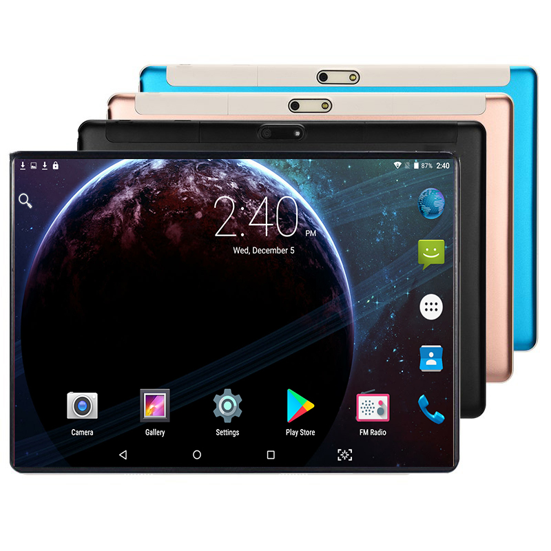 10 inch Super Tablet 1280*800 IPS Screen Touch PC Multi Language Wifi 4G LTE Metal Tablets 4GB RAM 64GB ROM Support micro sd(China)