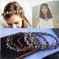 Handmade wedding Bridal Hair Accessory, Party Woman Berry cane Wreath Fashion Girls headband, Hair Band