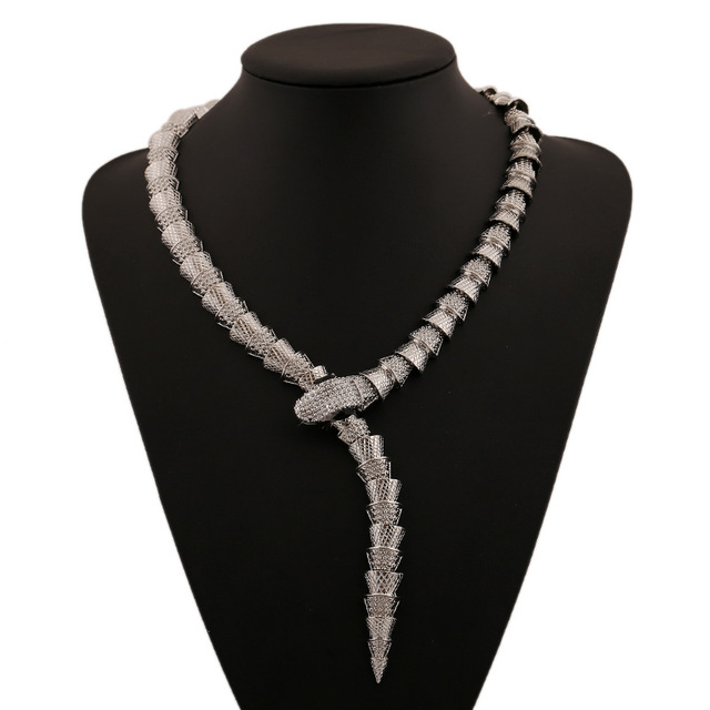 Женское винтажное ожерелье чокер lzhlq 2 цвета ожерелья из сплава
