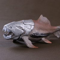 Simulation Dinosaur Toy Model Ancient Sea Monster Tang Fish In Devonian Period Dunkleosteus Model For Kids toy