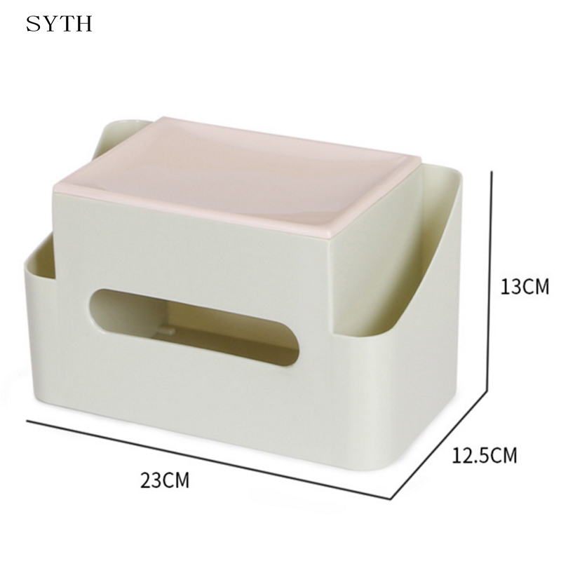 SYTH Creative Wall mounted and desktop Use Tissue ... on Wall Mounted Tissue Box Holder id=38279