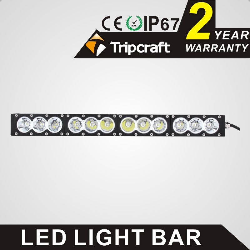 Wholesale 120w led work light bar white amber single row straight car driving lamp offroad 4x4 spot combo flood beam fog lamp guleek combo 120w 8400lm 40 led white light offroad car light bar working lamp 12 24v