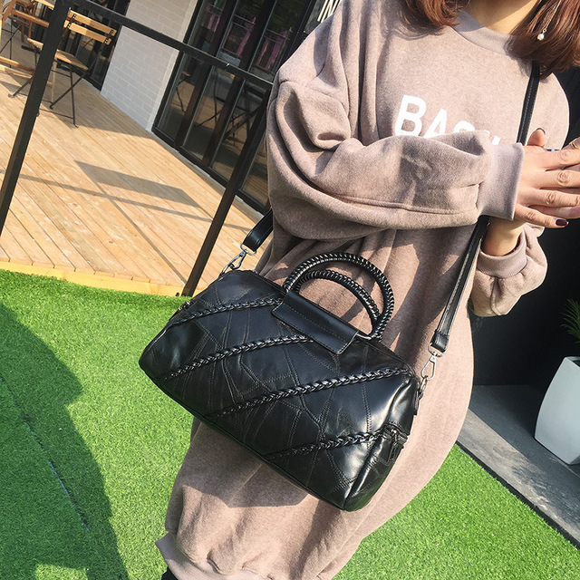 MY02 Woman Bags 2018 Bag Handbag Fashion Handbags Genuine Leather Tote Bags For Women Large Shoulder Crossbody Purses Bucket Bag