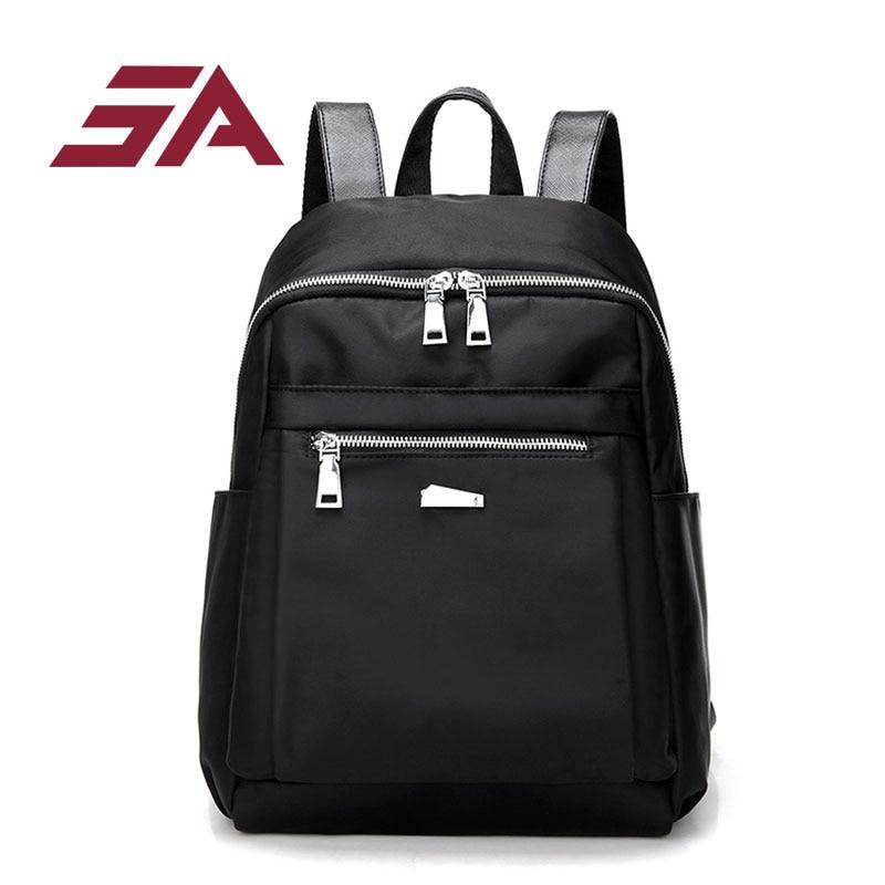 SA new oxford casual Backpacks Women School Bags Teenager Girl High Quality Women Backpack Designer Back Pack large capacity