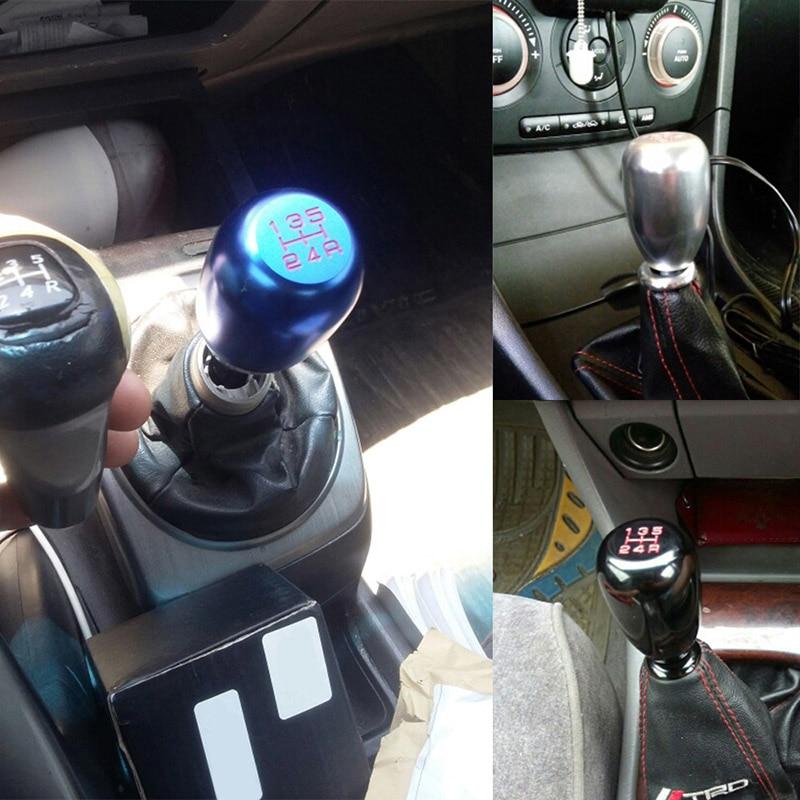 Car Manual Gear Knob Shifter Stick Shift 5 Speed JDM Universal Racing Aluminum DXY88