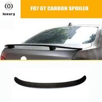 HM Style F07 GT Carbon Fiber Rear Trunk Spoiler for BMW F07 Gran Turismo GT 535i 550i 520d 530d 535d 2010 2016