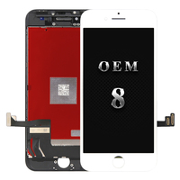 5pcs For iPhone 8 LCD display Original OEM quality screen Replacement Lens Pantalla with Touch Digitizer free shipping