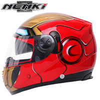 NENKI Motorcycle Helmet Men Full Face Moto Helmet Motor Touring Anti fog Sunscreen Helmet Dual Visor Sun Shield Lens 830