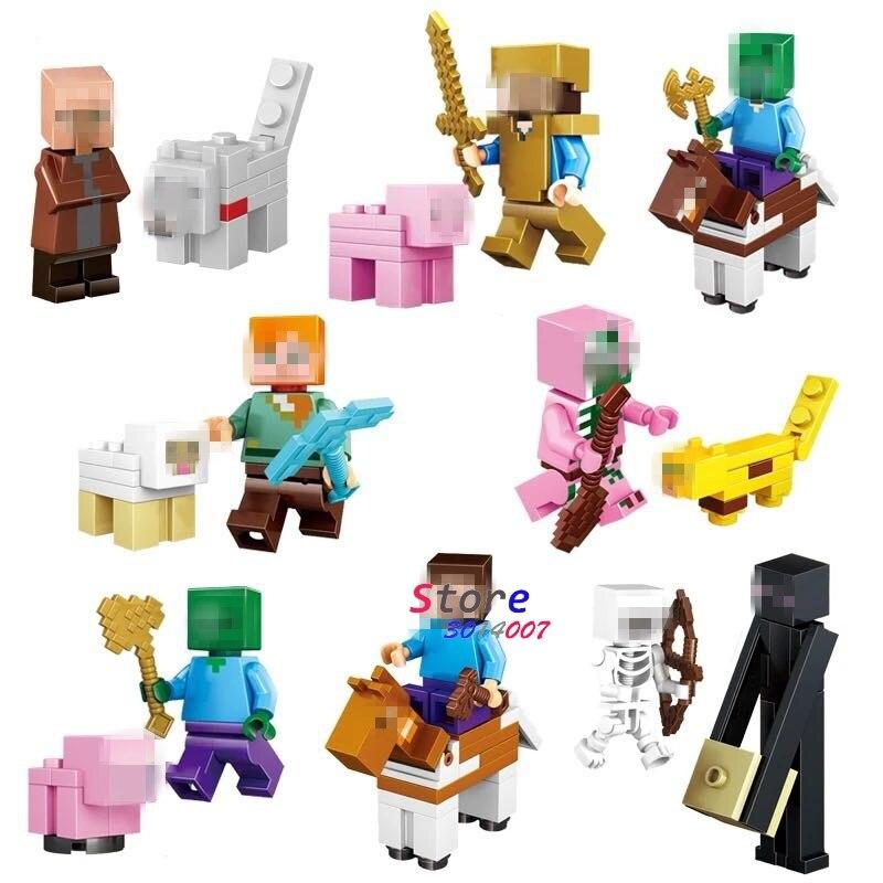 10Set Cartoon Serie 1 Meisjes Party Vrienden Geschenken Speelgoed Verhaal Film Action bouwstenen Model Bricks Kinderen-in Blokken van Speelgoed & Hobbies op  Groep 1