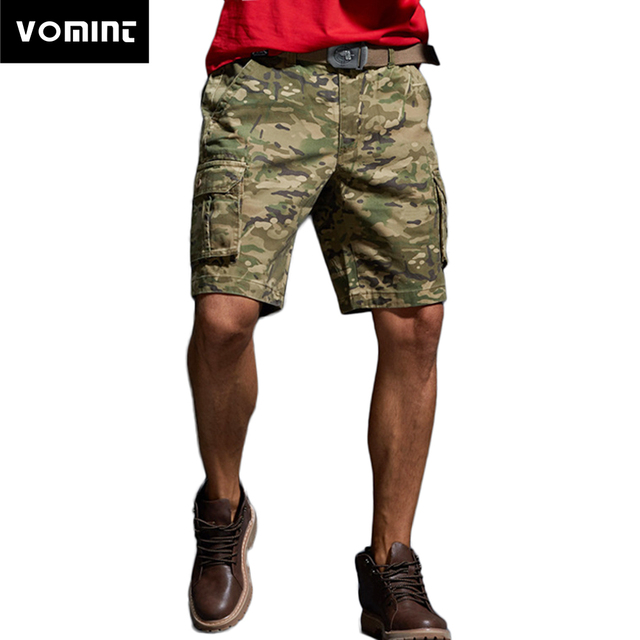 921ee2fbaa Vomint New Summer Mens Shorts Camouflage Cargo Short Pants Hot Fashion Five-part  Pants Youth Tooling Beach Men's Outwear Shorts