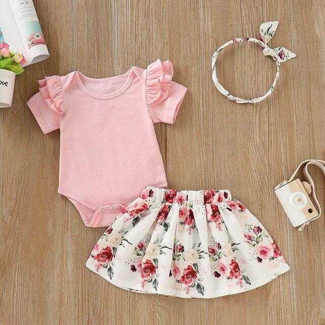 3PCS Newborn Baby Clothes...