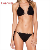 New Style Crochet Bikini Set Trikini Women Swimwear Bathing Suit Micro Biquini Swimsuit Maillot De Bain