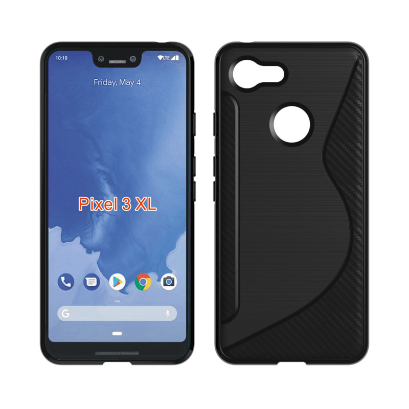 Case For Google Pixel 3/3 XL TPU Silicone Soft Case Anti-Knock Cover For Google Pixel 2/2 XL Cover Lanyard Shell