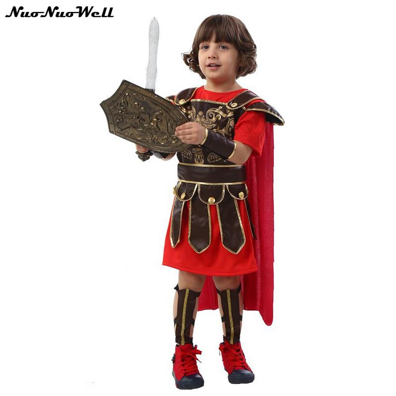 Halloween Cosplay Ancient Roman Role Playing Costumes Roman Knight ...