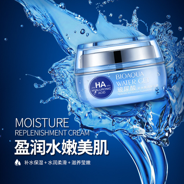 BIOAQUA Hyaluronic Acid Moistruizing Nourishing Face Care Lifting Firming Anti Wrinkle Face Cream To Remove Dark Spots Treatment