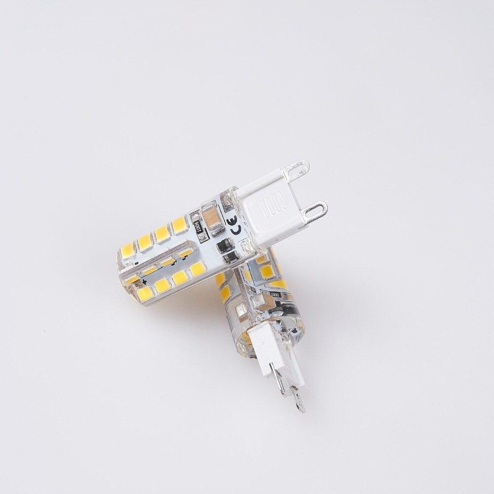 G9 LED Bulb G9 Base 32 LED Light Bulb Lamp 3W 360 Degrees Halogen Track Bulb Replacement LED Bulbs Silica Lamps For Chandelier