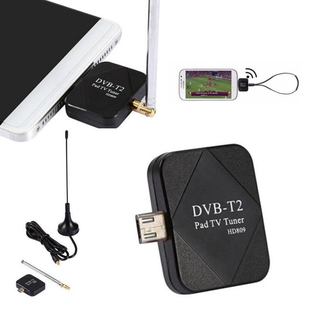 DVB T2 Mini Micro USB DVB T HD Digital TV Tuner TV Receiver for Android Mobile Phone Pad Tablets HDTV TV Stick