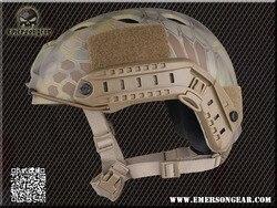 Casco táctico EM5659 casco balístico de alto corte XP casco deportivo casco de ciclismo material ABS para Airsoft Paintbal 8 colores M L