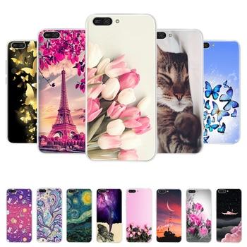 "Soft TPU Silicone case For Huawei Honor 7A Case 5.45"" Phone Case on Huawei Honor 7A 7 A DUA-L22 Russian Back Cover Coque bumper"