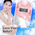 CE&FDA  Pocket Fetal Doppler ltrasonic , Prenatal monitor, baby heart monitor, fetal detector