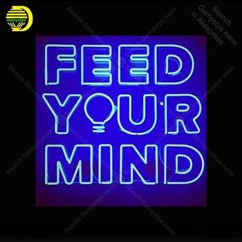 lampara mente neón tu de Letrero de alimentar la señal para nOXw80kP