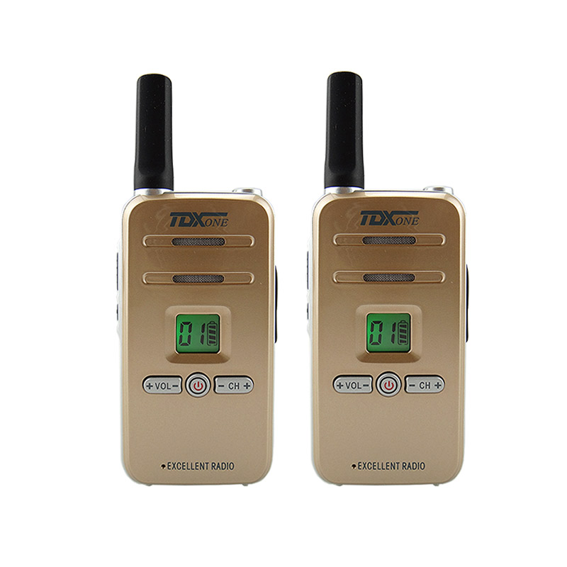 TDX Q7 Mini Professional Walkie Talkie 5W UHF 400 480MHz PTT Portable Handy Two Way Radio