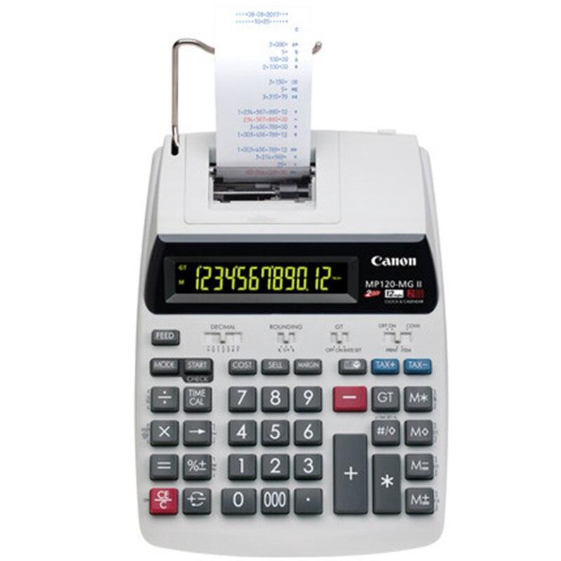 купить 1 Pcs Canon MP-120MG Print Calculator Print Adder Business Office Computer по цене 9548.89 рублей