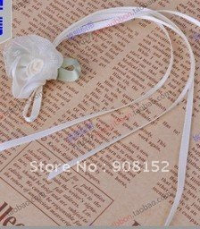 Factory price-- DIY satin ribbon bow Multi-purpose flower bow ornament--Sold by 100pcs