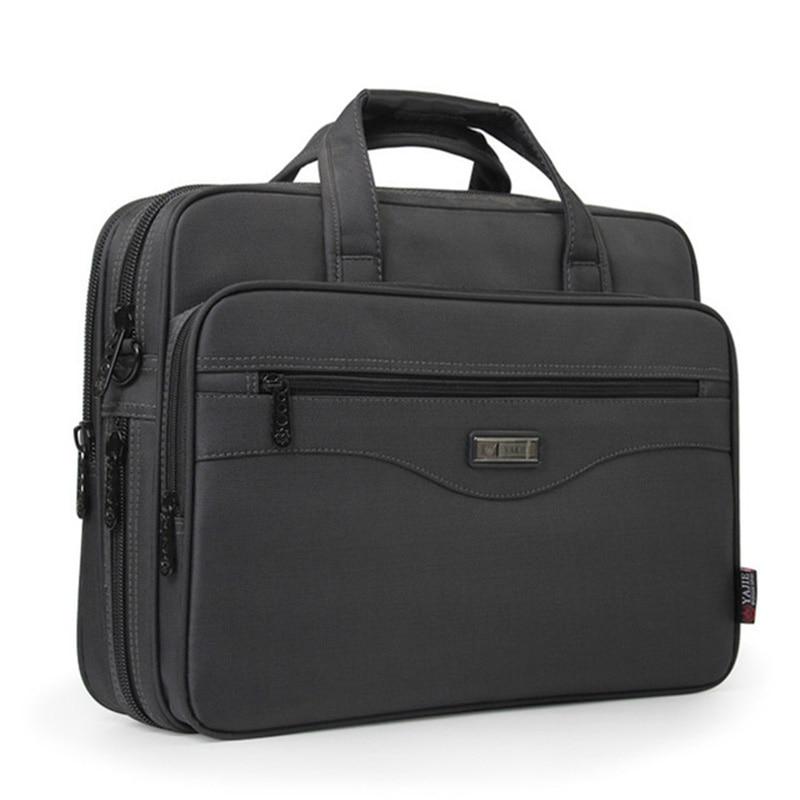 NEW Business Briefcase Laptop Bag Oxford Cloth Multifunction Waterproof Handbags Business Portfolios Man Shoulder Travel Bags